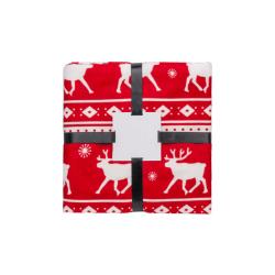 Koc polarowy świąteczny - 08068