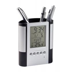 Pojemnik na długopisy z zegarem - AP806904