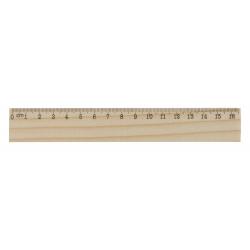 Drewniana linijka 16cm - AP808514