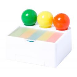 Zestaw zakreślaczy (3 kolory) na plastikowym stojaku z uchwytem na telefon - AP781752