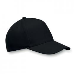 5 panelowa czapka bejsbolówka z poliestru - MO9004