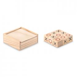 Drewniana gra w kółko i krzyżyk  - MO9493