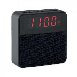 Głośnik Bluetooth 4.2 z ABS oraz z zegarkiem - MO9386-03