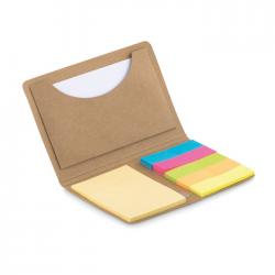 Etui na karty, w zestawie notes z karteczkami - MO9541