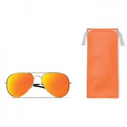 Modne okulary przeciwsłoneczne z kolorowymi soczewkami lustrzanymi z ochroną UV400 - MO9521