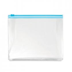 Kosmetyczka Z PVC zapinana na suwak - MO9627