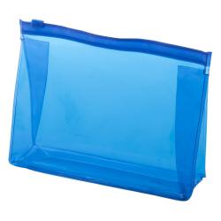 Zapinana, transparentna kosmetyczka z PVC - AP781081