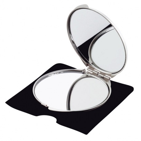 Eleganckie podwójne lusterko - 7501007