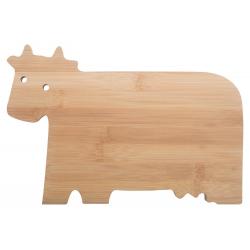 Bambusowa deska do krojenia w kształcie krowy - AP800407