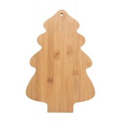 Bambusowa deska do krojenia w kształcie choinki- AP800405
