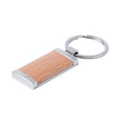 Drewniano-metalowy brelok - AP781895-B