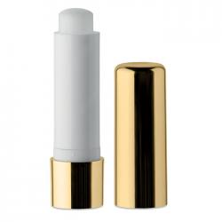 Naturalny balsam do ust w opakowaniu z metalicznym wykończeniem - MO9407