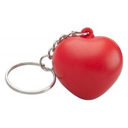 Antystres w kształcie serca z metalowym ringiem - AP791515