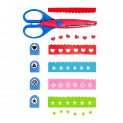 Zestaw dziurkaczy z nożyczkami - R64337