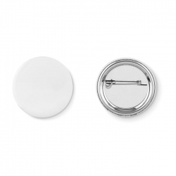 Mała przypinka button z papierowym wkładem - MO9329