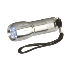 Metalowa latarka 9 LED - AP892001
