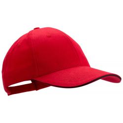 6 panelowa czapka z daszkiem ze 100% czesanej bawełny - AP741668