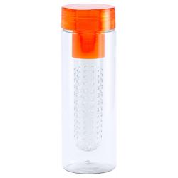 Przezroczysta butelka sportowa z sitkiem, 700 ml - AP721159