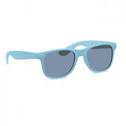 Klasyczne i stylowe okulary przeciwsłoneczne wykonane z 45% włókna bambusowego i 55% PP - MO9700