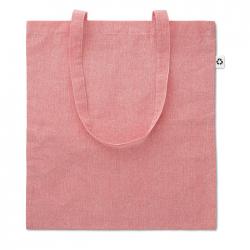 Dwukolorowa torba na zakupy z bawełny z recyklingu - MO9424