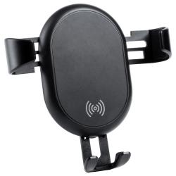 Plastikowy uchwyt na telefon z wbudowaną ładowarką bezprzewodową - AP721191