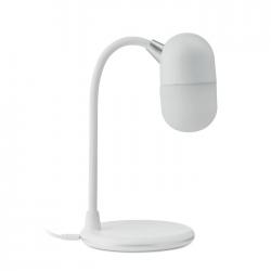 Lampka biurkowa z bezprzewodowym ładowaniem, z głośnikiem Bluetooth 4.2 - MO9675