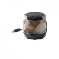 Głośnik Bluetooth 5.0 z ABS zaprojektowany w kształcie diamentu - MO9672