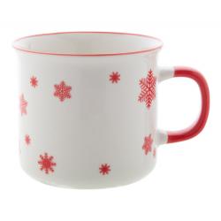 Ceramiczny kubek świąteczny w stylu vintage. 300 ml - AP803413