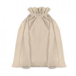 Średnia torba bawełniana ściągana sznurkiem, doskonała jako opakowanie na upominki - MO9730