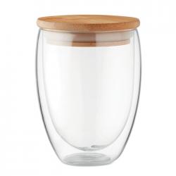 Szklanka z dwuwarstwowego szkła borokrzemianowego 350 ml - MO9720