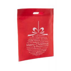 Torba na zakupy z włókniny z motywem świątecznym - AP809432