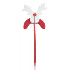 Plastikowy długopis ze świąteczną figurką - AP781581