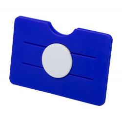 Silikonowy uchwyt na kartę kredytową z jedną przegrodą -AP721405