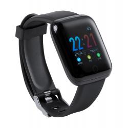 Wielojęzyczny smartwatch z bluetooth, z pomiarem tętna i ciśnienia krwi, - AP721443