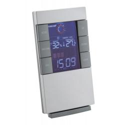 Cyfrowy zegar i stacja pogodowa z kolorowym wyświetlaczem - AP804835