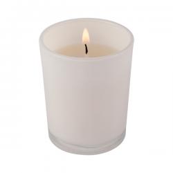 Świeca bezzapachowa w szklanym pojemniku - R17474