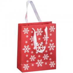 Świąteczna, papierowa torba na prezenty - 8056905