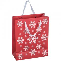 Świąteczna, papierowa torba na prezenty - 8057005
