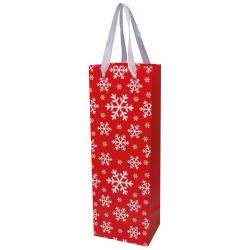 Świąteczna torebka na wino - 8086005