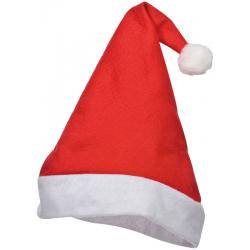 Zabawna czapka św. Mikołaja wykonana z filcu - 8339405