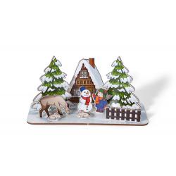 Dekoracja świąteczna do samodzielnego złożenia - 08119
