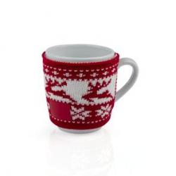 Ceramiczny kubek z gustownym sweterkiem - AS 21021