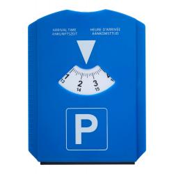 Plastikowa karta parkingowa z funkcją skrobaczki do szyb - AP844041