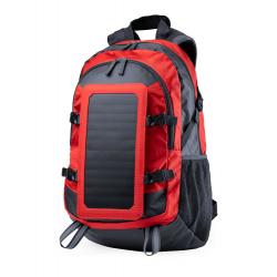 Wodoodporny plecak z materiału ripstop z odłączanym panelem solarnym - AP721424