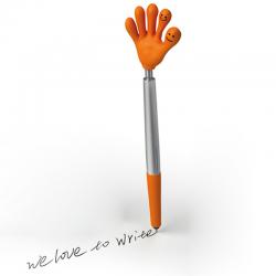 Długopis plastikowy z różnymi łapkami - 1341510