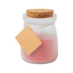 Świeczka zapachowa w szklanym słoju z pokrywką z korka - AP721439
