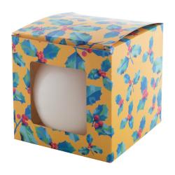 Bezzapachowa świeca w kartoniku z nadrukiem full kolor - AP718234