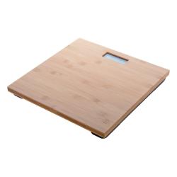Cyfrowa waga łazienkowa z bambusową powierzchnią - AP800420