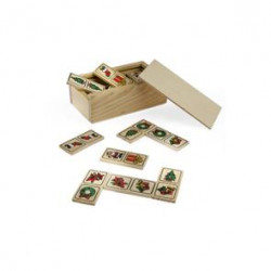 Domino HO HO HO to odświeżona wersja klasycznego domino- AS 08071