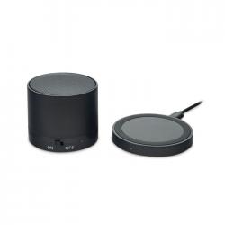 Bezprzewodowy głośnik Bluetooth 4.1 (300 mAh), z bezprzewodową ładowarką - MO9713